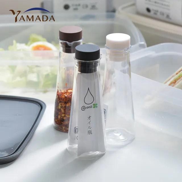 【YAMADA 日本山田】密封式PET油醋醬料分裝瓶-77ml-3入組-三色(調味料 醬油 分裝罐 廚房 烹飪)
