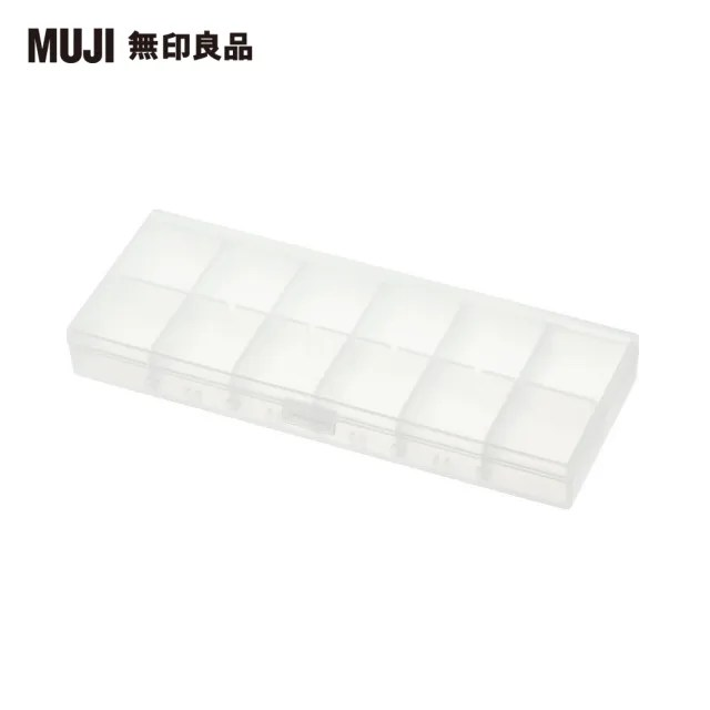 【MUJI 無印良品】聚丙烯藥盒/L/約66x170x20mm