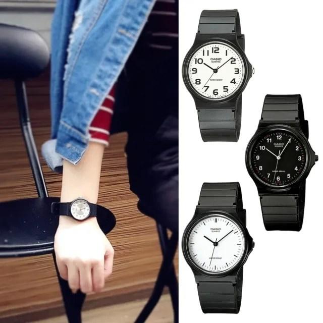 【CASIO 卡西歐】多元STANDARD指針錶系列(MQ-24)