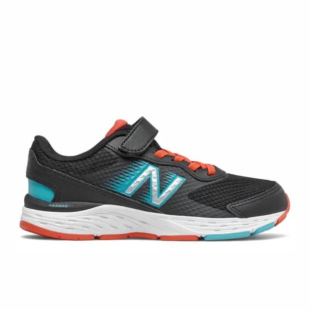 【NEW BALANCE】NB 慢跑鞋 童鞋 男童 女童 運動鞋 緩震 訓練 996系列 黑 YA680BG6