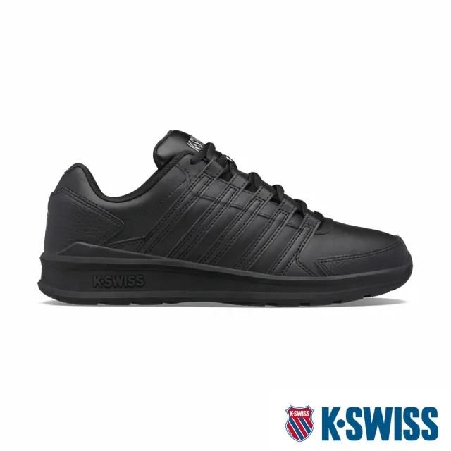 【K-SWISS】時尚運動鞋 Vista Trainer-男-黑(07000-001)