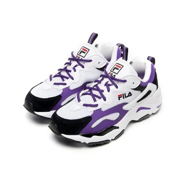 【FILA】運動鞋 老爹鞋 RAY TRACER 女運動鞋-紫(5-C103V-118)