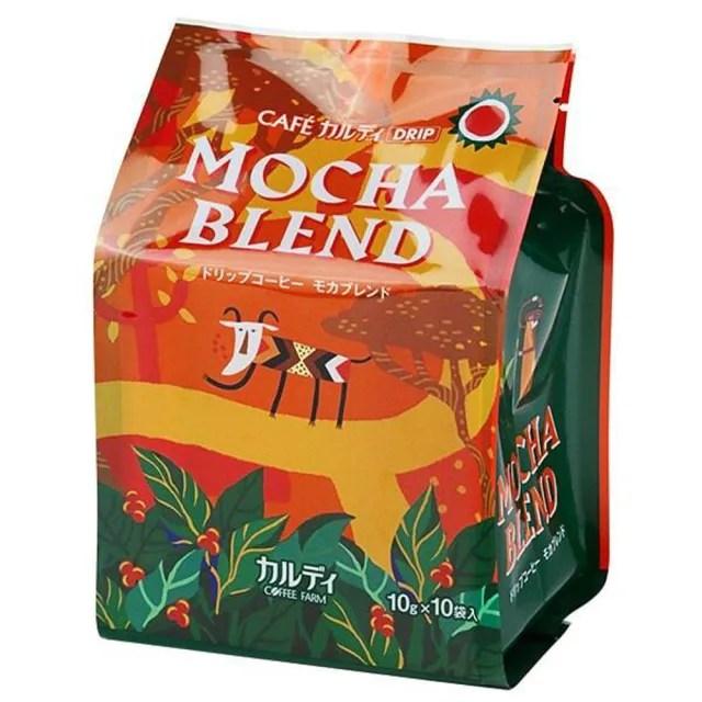 【咖樂迪咖啡農場】濾掛式咖啡 頂級綜合摩卡(10gX10袋)