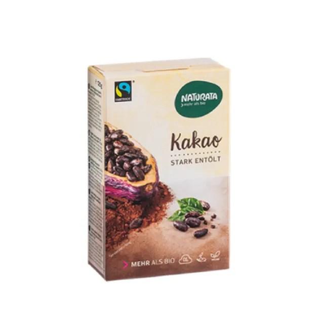 【O'Life 機本生活】Naturata 有機無糖純可可粉(125g/盒)