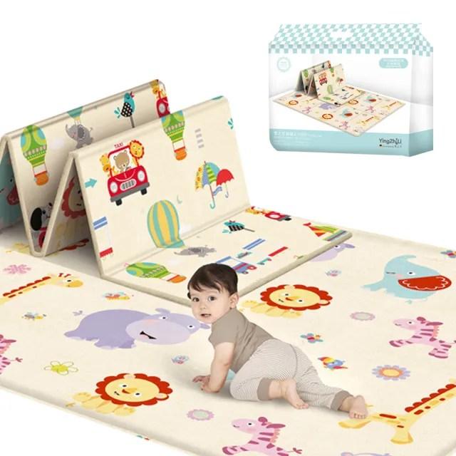 【JoyNa】寶寶爬行墊 防水遊戲墊 防撞地墊 野餐墊