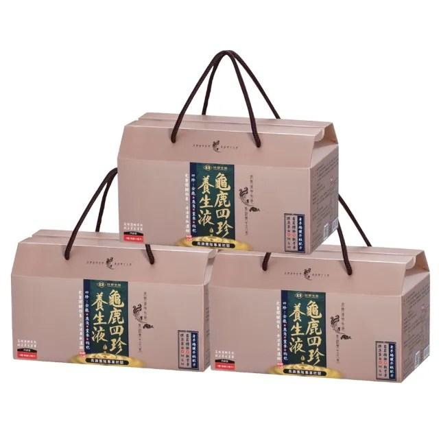 【台塑生醫】醫之方龜鹿四珍養生液50ml*14瓶/盒(3盒/組)