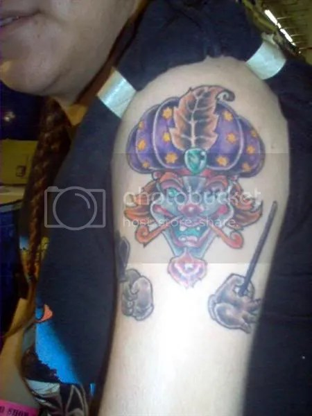 GameSpot Forums - The Insane Clown Posse Union Board - Juggalo Tattoos