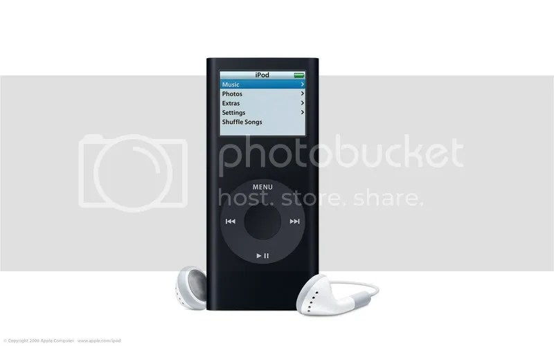 The new iPod nano