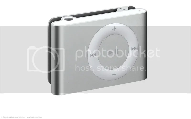 The new iPod Shuffle