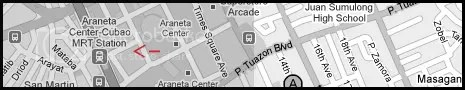 Cubao Map MRT