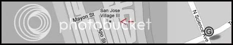 Map Laguna Technopark San Jose Village