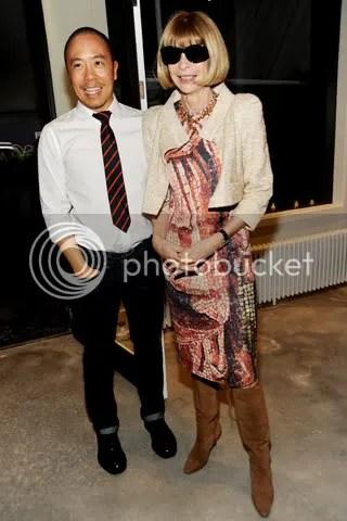 Derek Lam with Vogues Anna Wintour