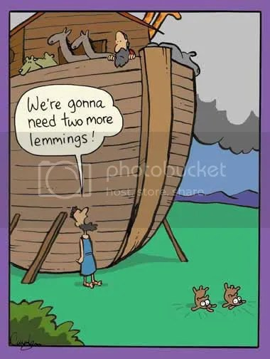 Lemmings - Courtesy of Inherit the Mirth