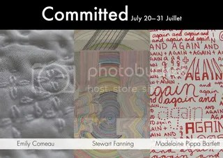 Committed postcard
