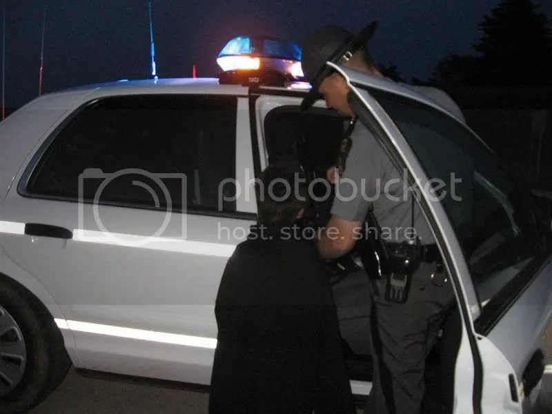 """trooper showing Ian the """"cool car"""" - 5-24-08"""