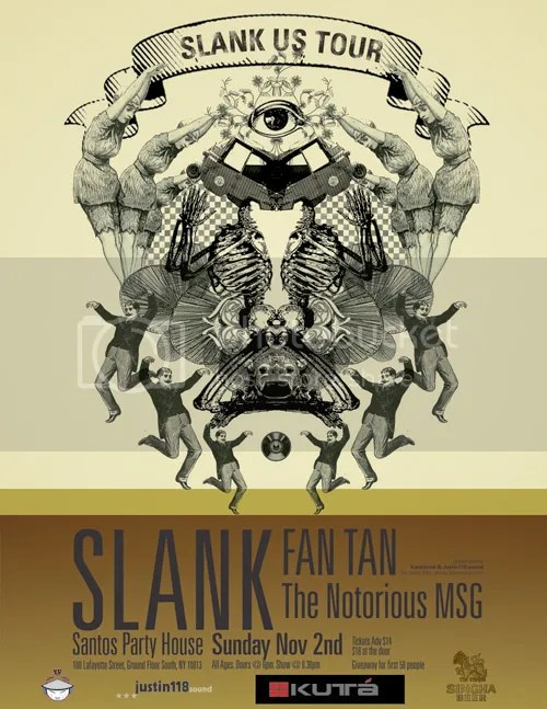 Nov. 2nd, 2008 Slank, Notorious MSG and Fan Tan live at Santos in NYC