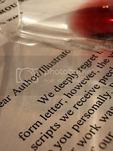 Drowning Rejection - A Writer's Rejection Letter