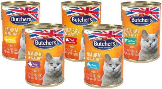 Mokra karma dla kotów, Butchers – SKAPIEC.pl