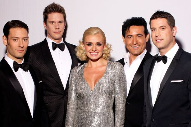 Katherine Jenkins with Il Divo