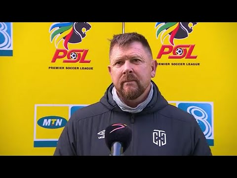 MTN8 | SF2 | 1st Leg | Cape Town City v Swallows FC | Post-match interview with Eric Tinkler