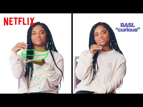 How To Sign In BASL (Black American Sign Language) | Strong Black Lead
