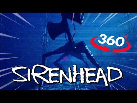 360 Video | Escape SIREN HEAD 360 VR Part 2