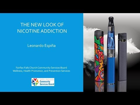 The New Look of Nicotine Addiction - October 3, 2019