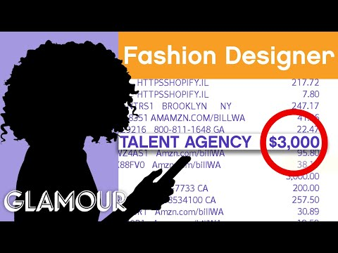 How This Fashion Designer Budgets $1 Million | Honest Accounts | Glamour