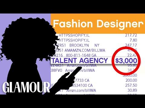 How This Fashion Designer Budgets $1 Million | Honest Accounts | Glamour