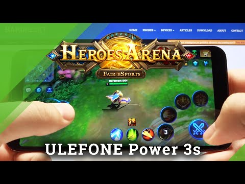 Heroes Arena Gameplay on Ulefone Power 3s – Performance Test / Gaming Quality