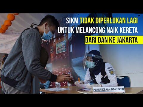 Penumpang KA Dari dan Ke Jakarta Tidak Perlu SIKM