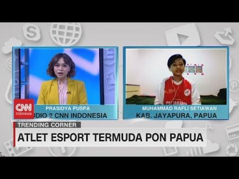 Atlet Esport Termuda Pon Papua