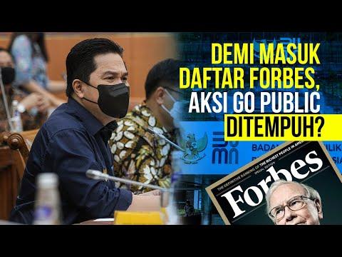 Erick Thohir Dorong 14 BUMN Siap Go Public, Paling Banyak Sektor Energi?