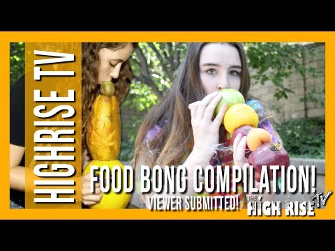 4 CRAZY BONGS MADE OUT OF FOOD!!! (MACDIZZLE'S MELTDOWN VIEWER SUBMITTED)