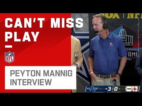 Peyton Manning HOF interview | 2021 NFL Game Highlights