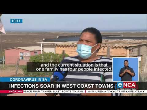 COVID-19 infections soar in West Coast towns