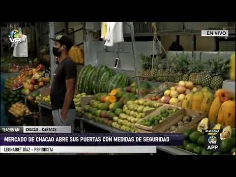 Miranda - Se cumplen medidas de bioseguridad en mercados municipales de Chacao - VPItv
