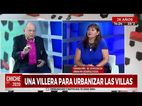 """Una """"villera"""" para urbanizar las villas"""