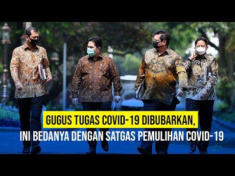 Pemerintah Bubarkan Gugus Tugas Covid-19
