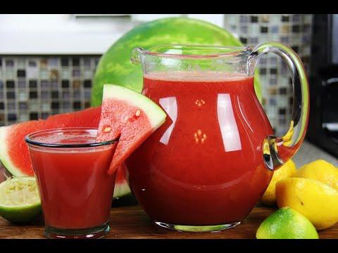 Summery Watermelon Lemonade #TastyTuesdays | CaribbeanPot.com