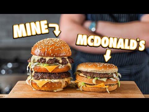 Making The McDonald's Big Mac At Home | But Better