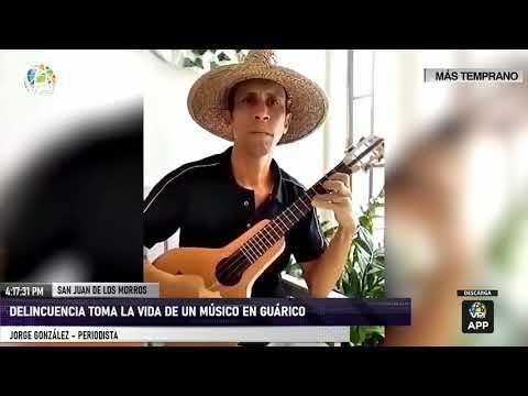 Guárico - Delincuencia toma la vida de un músico en Guárico - VPItv