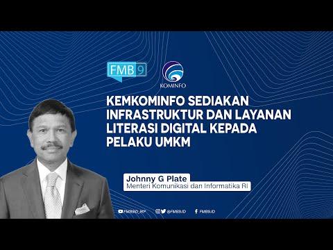 Infrastruktur dan Layanan Literasi Digital untuk Pelaku UMKM