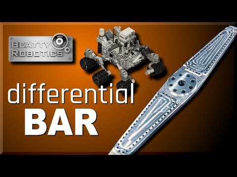 CNC Machining a MARS Curiosity Differential Bar | WW212