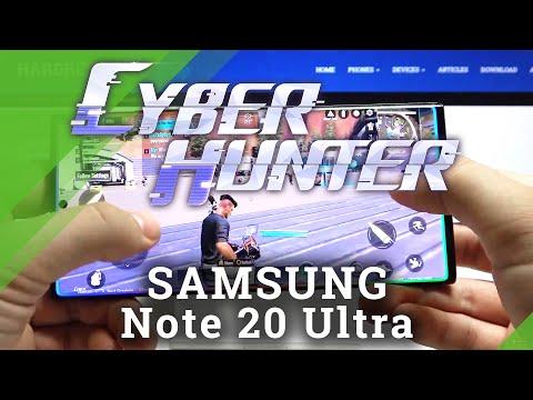 Test Cyber Hunter on SAMSUNG Galaxy Note 20 Ultra – Performance Checkup