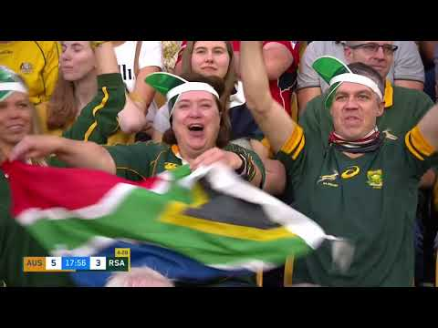 The Castle Lager Rugby Championship | Australia v South Africa | Highlights