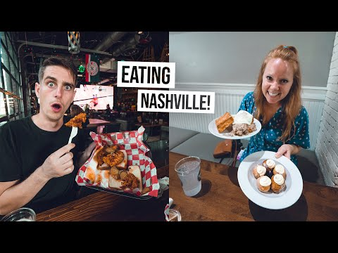 We Did a Nashville FOOD TOUR! Trying America's BEST Sandwich & Hottest Chicken 🔥🥵