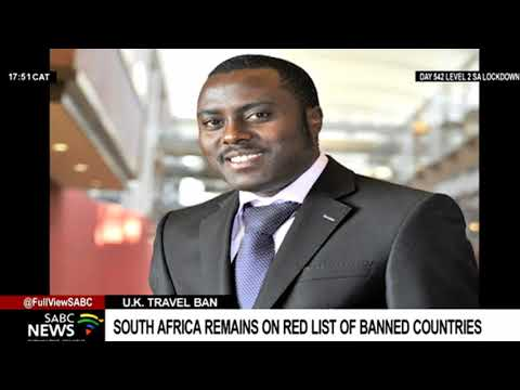 South Africa to intensify efforts to get off the U.K.'s red list