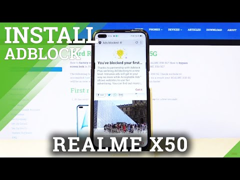 How to Install AdBlock in REALME X50 5G – Get Rid of Ads