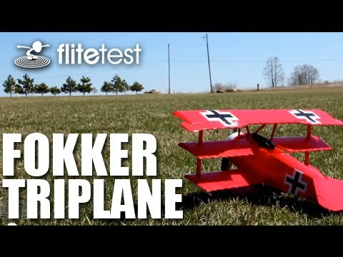 Flite Test - Fokker Triplane - REVIEW | ImpressPages.lt